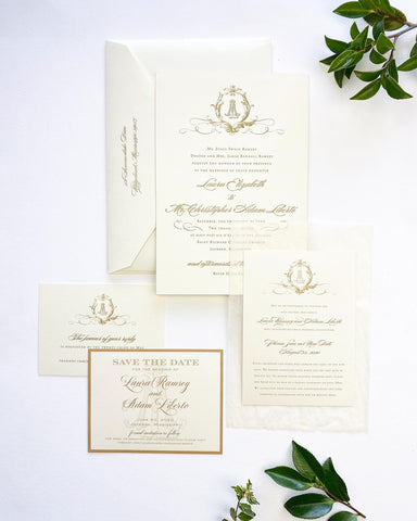 Ramsey Wedding Invitation - Deposit Listing