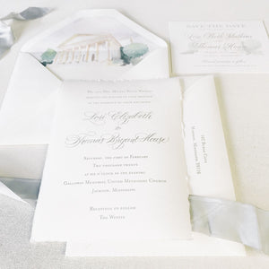 Watkins Wedding Invitation - Deposit Listing