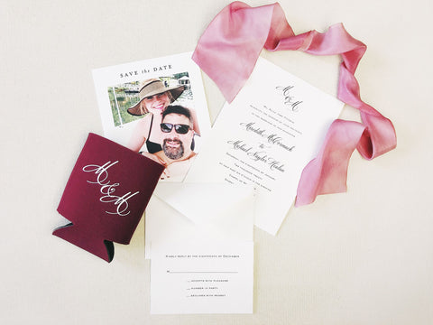 Pittman Wedding Invitation - Deposit Listing