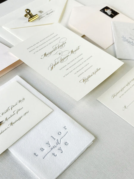 Neely Wedding Invitation - Deposit Listing