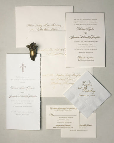 Grogan Wedding Invitation - Deposit Listing