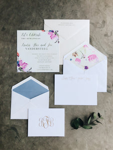 Alice Engagement Party - Deposit Listing