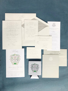 Lampton Wedding Invitation - Deposit Listing