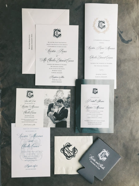 Monsour Wedding Invitation - Deposit Listing