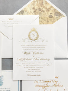 Molly Wedding Invitation - Deposit Listing
