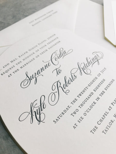 Floyd Wedding Invitation - Deposit Listing