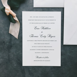 Anthony Value Invitation (set of 10)
