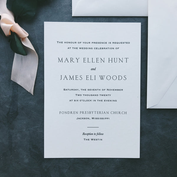 Hunt Value Invitation (set of 10)