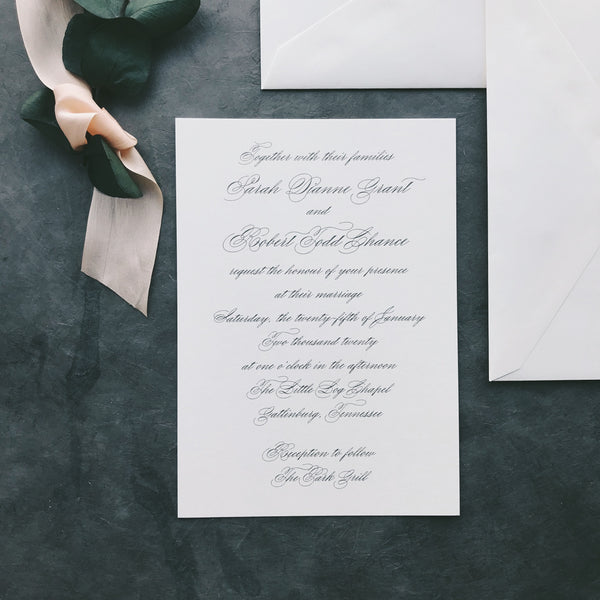 Grant Value Invitation (set of 10)