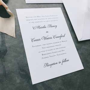 Lawrence Value Invitation (set of 10)