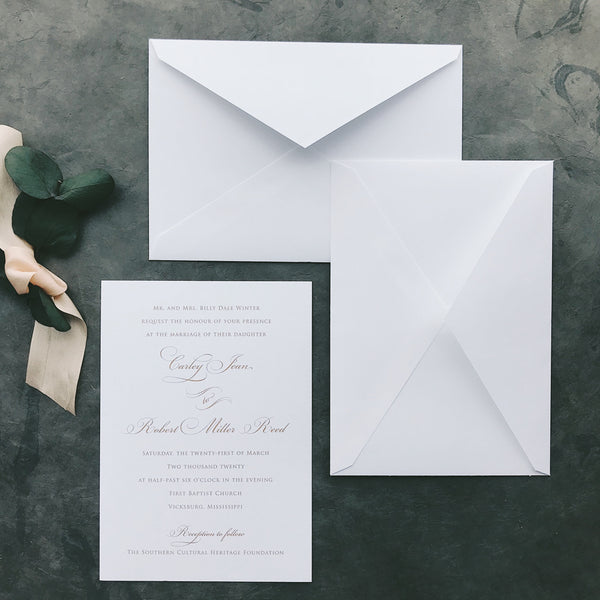Winter Value Invitation (set of 10)