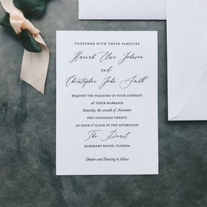 Johnson Value Invitation (set of 10)