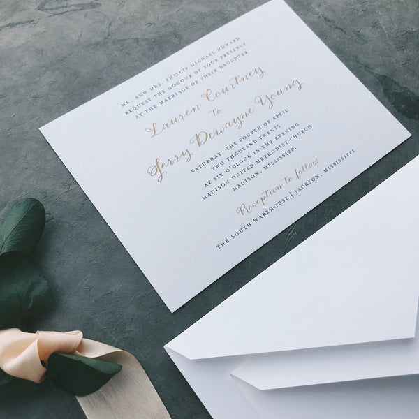 Howard Value Invitation (set of 10)