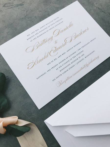 Smith Value Invitation (set of 10)
