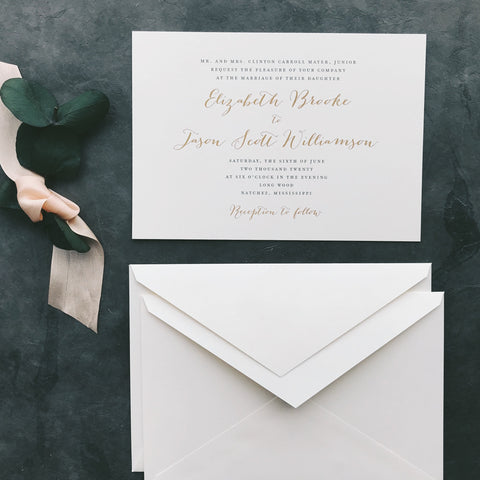 Mayer Value Invitation (set of 10)