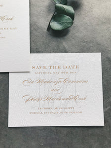 Erin Save the Date - Deposit Listing