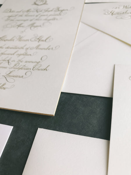 Banquer Wedding Invitation - Deposit Listing