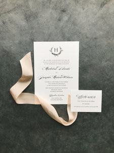 Madeline Wedding Invitation - Deposit Listing