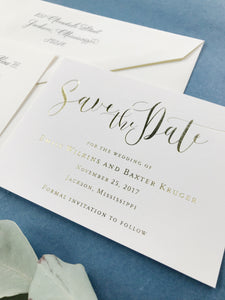 Emily Save the Date - Deposit Listing