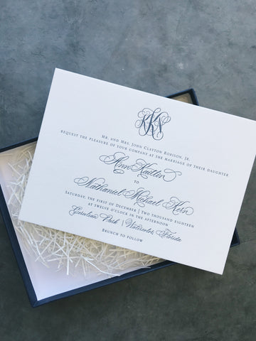 Kern Wedding Invitation - Deposit Listing