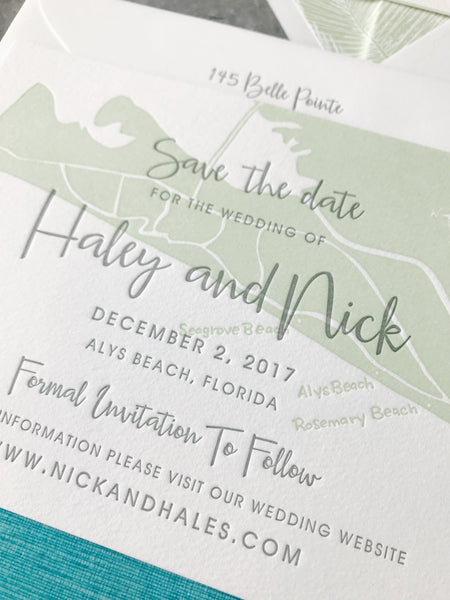 Haley Save the Date - Deposit Listing