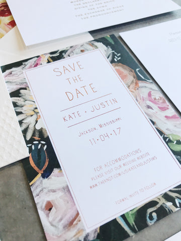 Kate Save the Date - Deposit Listing