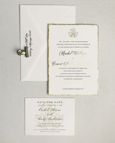 Thomas Wedding Invitation - Deposit Listing