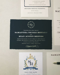 Hotard Wedding Invitation - Deposit Listing