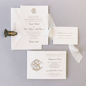 Dorsey Wedding Invitation - Deposit Listing