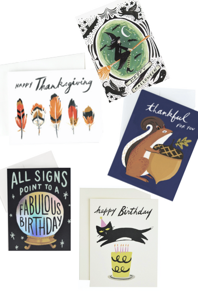 Fresh Ink Card Club - Fall Holiday Mix