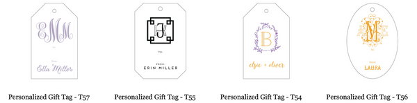 Letterpress Gift Tags *All Options*