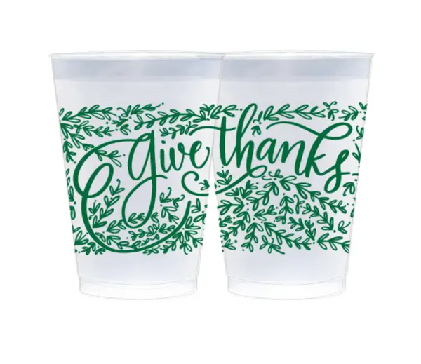 Fresh Ink Party Cups