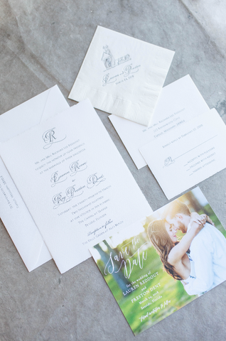 Seaside Wedding Invitation - Deposit Listing
