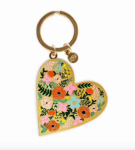Rifle Paper Co. Enamel Keychain