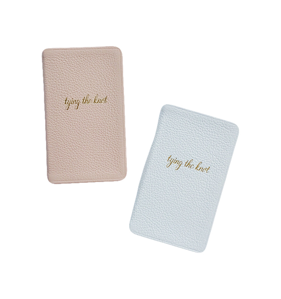Mini Wedding Planning Notebook