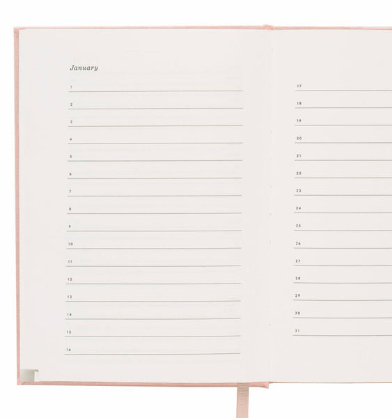 Blush Address Book Keepsake