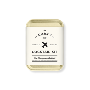 The Champagne Cocktail Carry On Kit