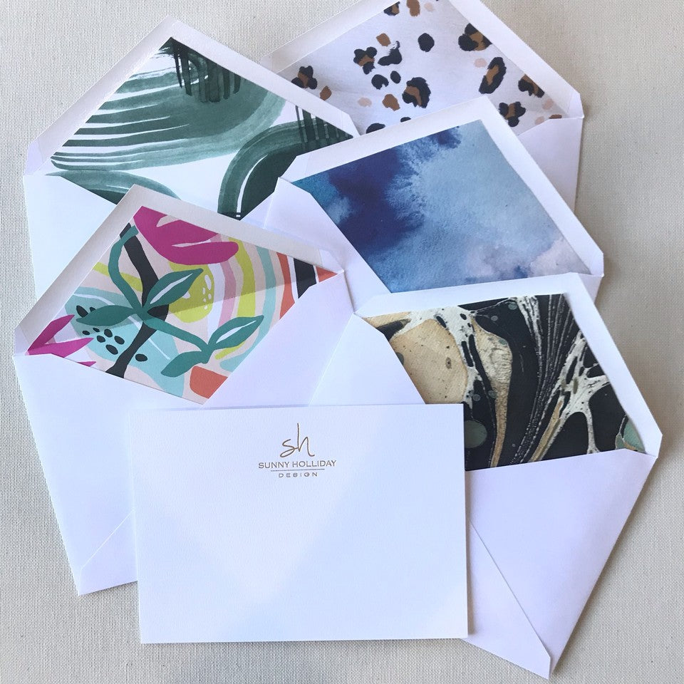 Sunny Holiday Design Stationery
