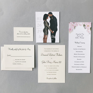 Forkner Wedding Invitation - Deposit Listing