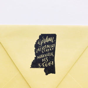 Custom Handwritten Return Address Stamps
