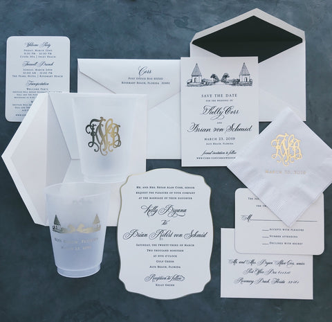 Corr Wedding Invitation - Deposit Listing