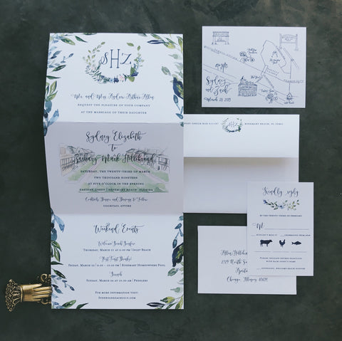 Sydney Wedding Invitation - Deposit Listing