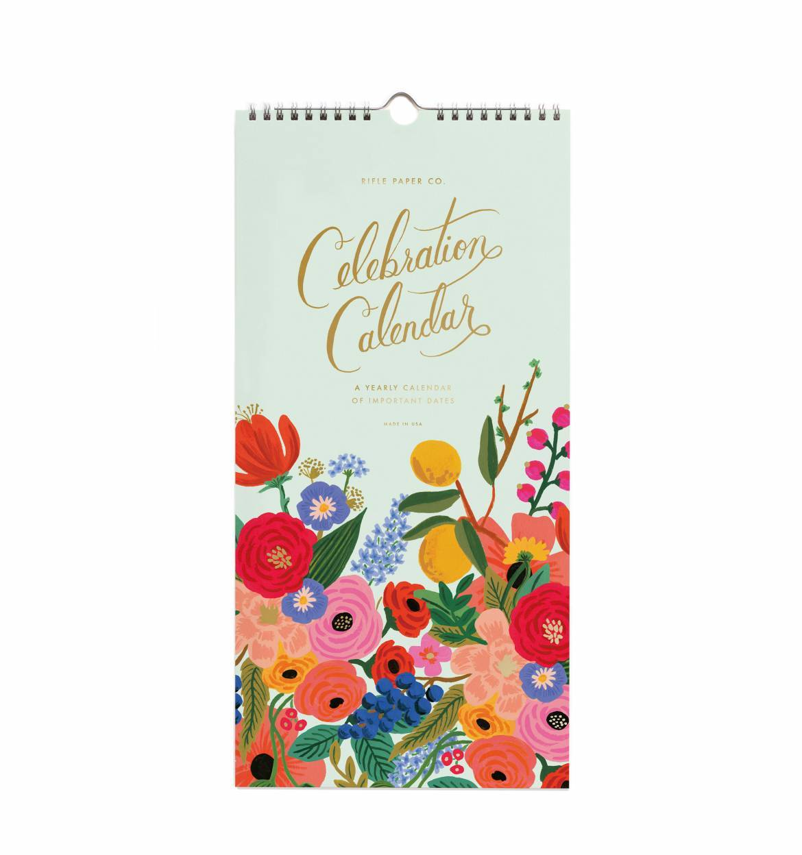 Rifle Paper Co. Celebration Wall Calendar