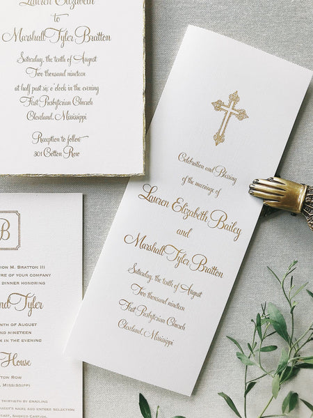 Lauren Wedding Invitation - Deposit Listing