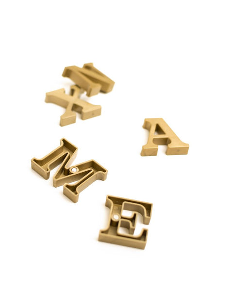 Sophisticated Alphabet Magnets