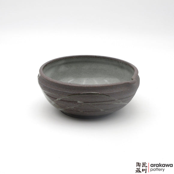 Handmade Ceramic Dinnerware: Katakuchi Bowl, Clear Swish Glaze - 1224 - 082 made by Thomas Arakawa and Kathy Lee-Arakawa at Arakawa Pottery