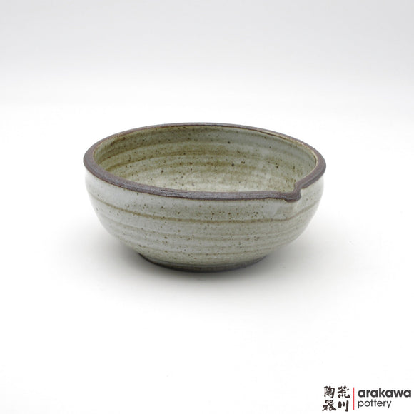 Handmade Ceramic Dinnerware: Katakuchi Bowl, Chun Glaze - 1224 - 083 made by Thomas Arakawa and Kathy Lee-Arakawa at Arakawa Pottery