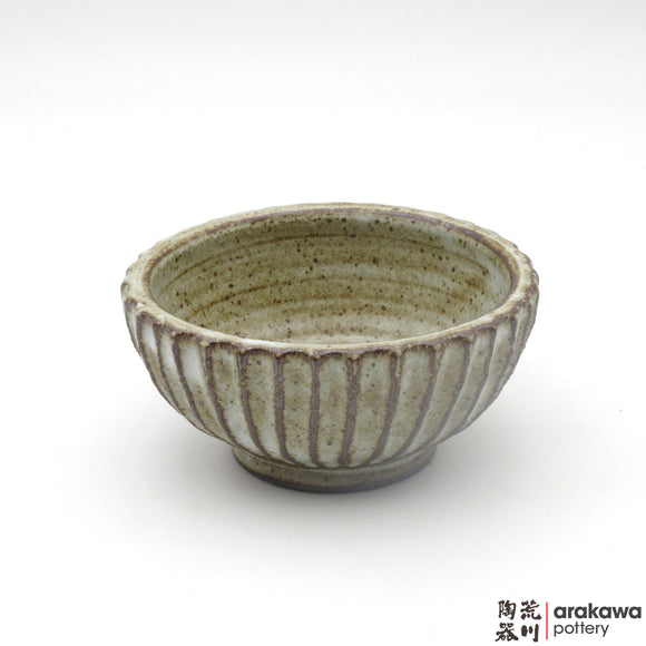 Handmade Ceramic Dinnerware: Fluted Bowl (S), Chun Glaze - 1224 - 098 made by Thomas Arakawa and Kathy Lee-Arakawa at Arakawa Pottery