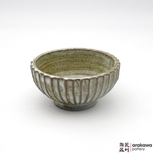 Handmade Ceramic Dinnerware: Fluted Bowl (S), Chun Glaze - 1224 - 099 made by Thomas Arakawa and Kathy Lee-Arakawa at Arakawa Pottery