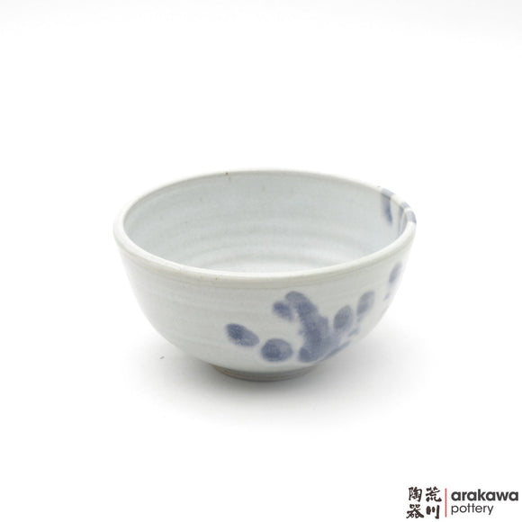 Handmade Ceramic Dinnerware: Rice Bowl , Baby Blue Glaze - 1224 - 100 made by Thomas Arakawa and Kathy Lee-Arakawa at Arakawa Pottery
